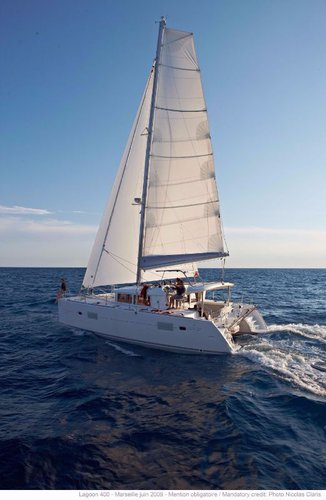 Boating is fun with a Lagoon-Beneteau in Saronic Gulf