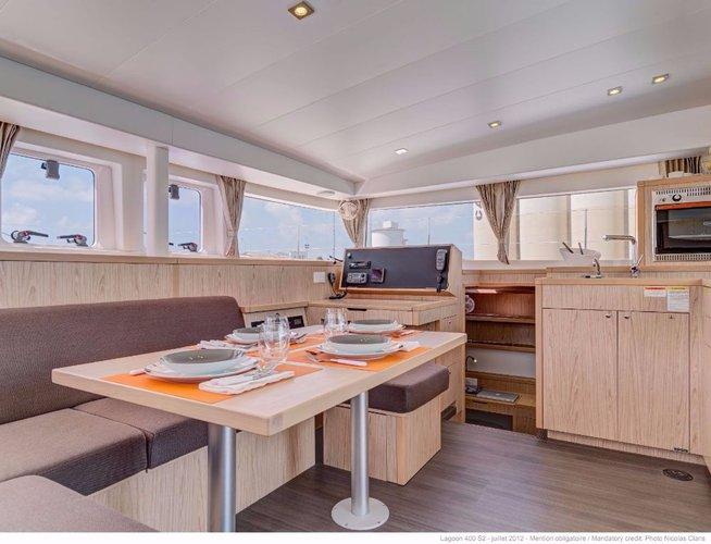 Boat for rent Lagoon-Bénéteau 39.0 feet in Marina Split - ACI ,