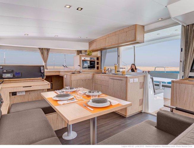 Boat for rent Lagoon-Bénéteau 39.0 feet in Marina Trogir - SCT,