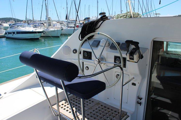 Boat for rent Lagoon-Bénéteau 40.0 feet in Yachtclub Seget (Marina Baotić), Seget Donji, Croatia