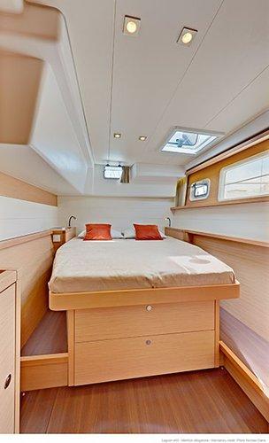 Boat for rent Lagoon-Bénéteau 45.0 feet in Marina Split - ACI ,