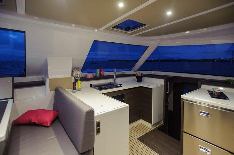 Boat for rent Nautitech Rochefort 39.0 feet in Corsica, France