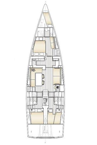 This 57.0' Solaris Yachts cand take up to 6 passengers around Šibenik region