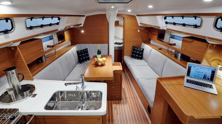 Discover Split region surroundings on this XC 35 X-Yachts boat