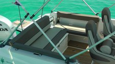 thumbnail-23 Jeanneau 24.0 feet, boat for rent in Split region, HR