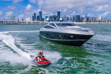 Sleek 85' Sunseeker Predator! Miami Beach