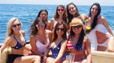 40' VanDutch Ultra luxury Day Yacht in Newport Beach for Day Parties, Birthdays,