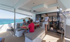 thumbnail-7 Fountaine Pajot 45.0 feet, boat for rent in Saronic Gulf, GR
