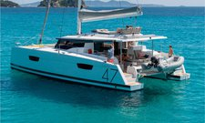 Indulge in luxury in Spain onboard 47' Fountaine Pajot Saona