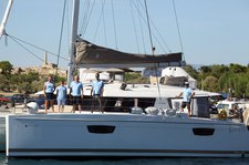 thumbnail-1 Fountaine Pajot 49.0 feet, boat for rent in Cyclades, GR