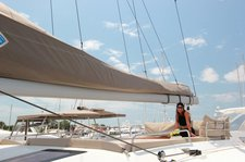 thumbnail-9 Fountaine Pajot 49.0 feet, boat for rent in Cyclades, GR