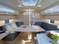 thumbnail-2 Hanse Yachts 37.0 feet, boat for rent in Šibenik region, HR