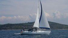 Sail Šibenik region waters on a beautiful Jeanneau