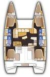 thumbnail-11 Lagoon-Bénéteau 41.0 feet, boat for rent in Split region, HR