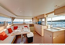 thumbnail-4 Lagoon-Bénéteau 45.0 feet, boat for rent in Split region, HR
