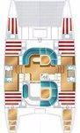 thumbnail-6 Nautitech Rochefort 39.0 feet, boat for rent in Split region, HR