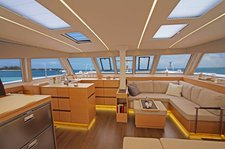 thumbnail-10 Nautitech Rochefort 45.0 feet, boat for rent in Saronic Gulf, GR