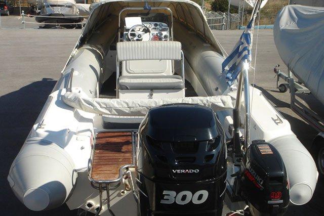 Rigid inflatable boat rental in Athens - Marina Alimos (Kalamaki), Greece