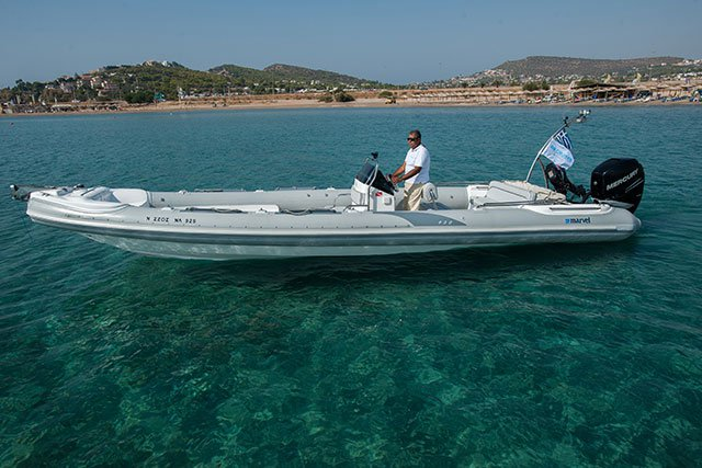 MARVEL 9.30 - 1X300HP VERADO BASED AT ATHENS