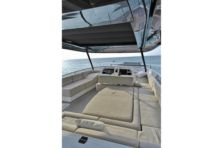 Discover Phuket surroundings on this McY 70 Monte Carlo Yachts boat