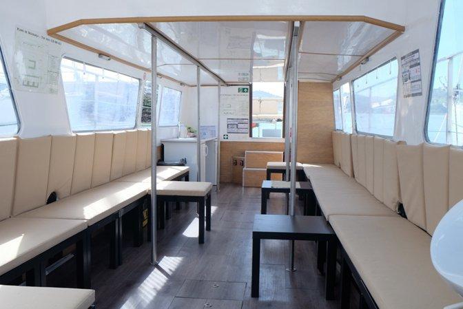 39.0 feet Passenger boat in great shape