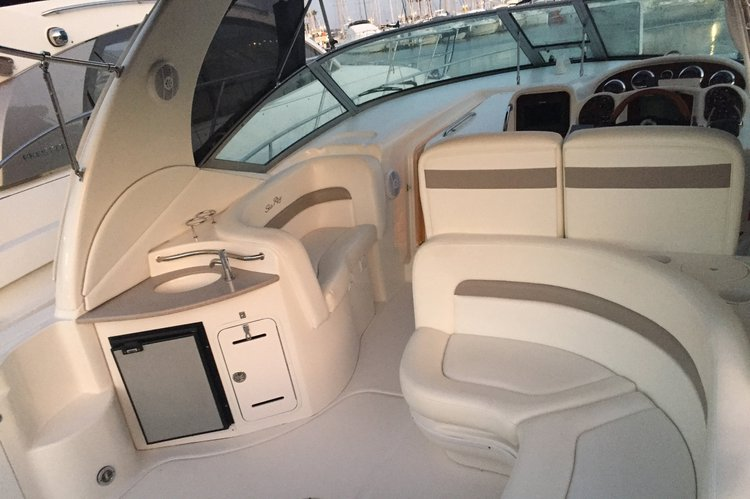 Sea Ray boat for rent in cannes