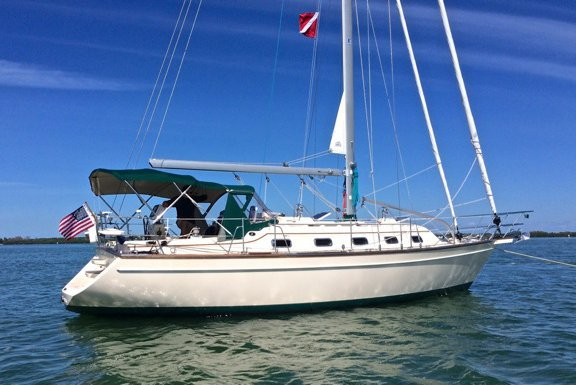 38.0 feet Island Packet Yachts in great shape