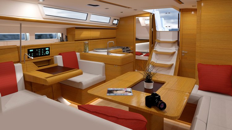 Discover St. Petersburg surroundings on this Custom Jeanneau boat