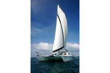 Escape the boisterous crowd in Bermuda onboard 55' sailing catamaran