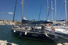 Sailboat in Salento