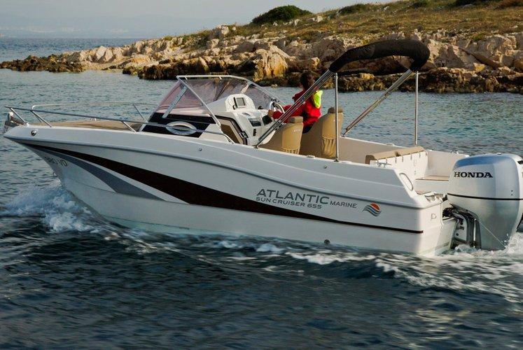 Atlantic Marine's 22.0 feet in Trogir