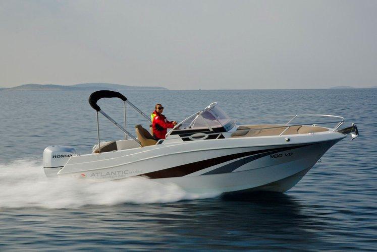 Boat for rent Atlantic Marine 22.0 feet in Trogir,