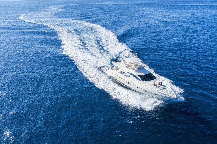 Boat for rent Azimut 65.61 feet in Orašac,