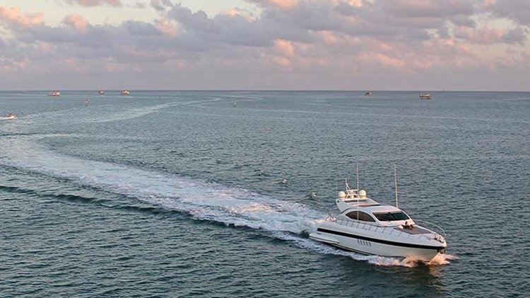 Boat for rent Mangusta 72.0 feet in Island Garden Marina, FL