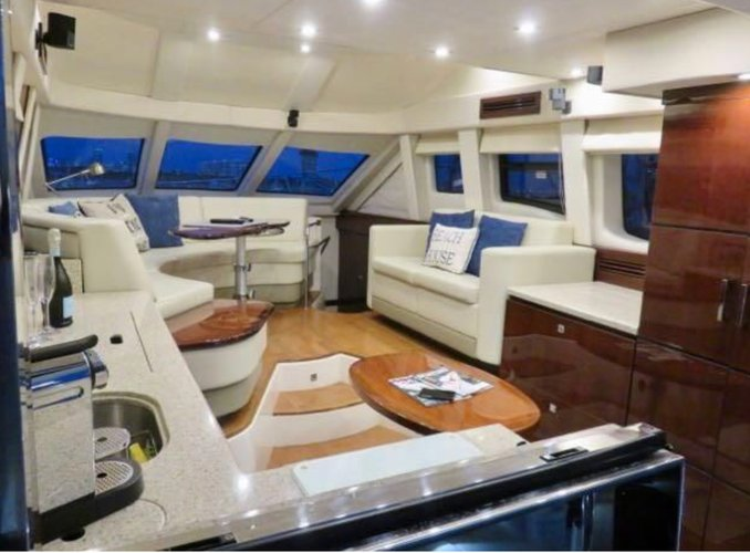 Flybridge boat rental in 848 Brickell key drive, FL