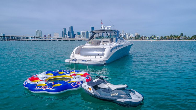 Yacht Party Rental - 54' Sea Ray!