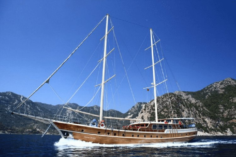 Set sail in Maramris, Turkey aboard 105' classic sailing yacht