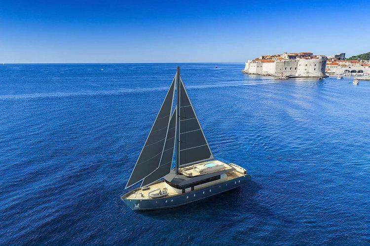 Charter a 108' sailing yacht in Split, Croatia