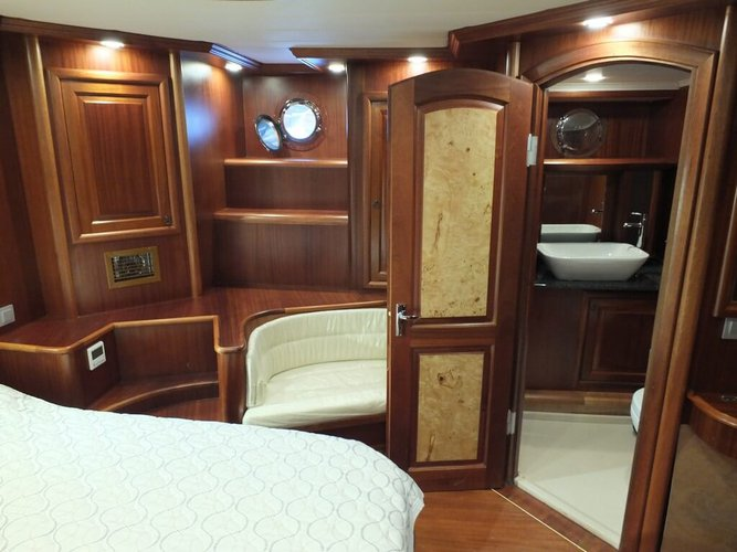Custom's 111.55 feet in Marmaris