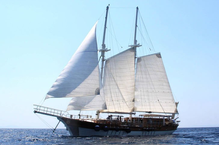 Have fun in Split, Croatia onboard 112' classic sailing yacht