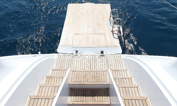 Custom's 114.82 feet in Gocek