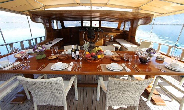 Discover Gocek surroundings on this Custom Custom boat