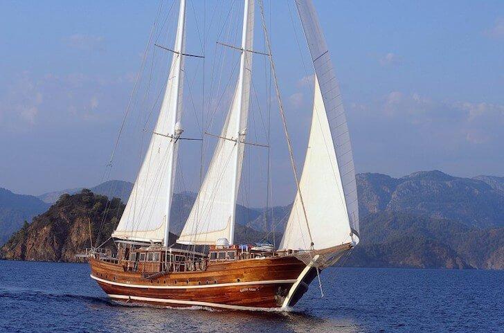 Enjoy sailing in Turkey aboard 121' classic sailing yacht