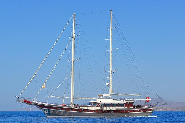 Cruise Bodrum, Turkey aboard 125' classic sailing yacht
