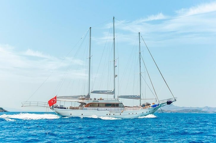 Have fun in Bodrum, Turkey aboard 125' classic sailing yacht