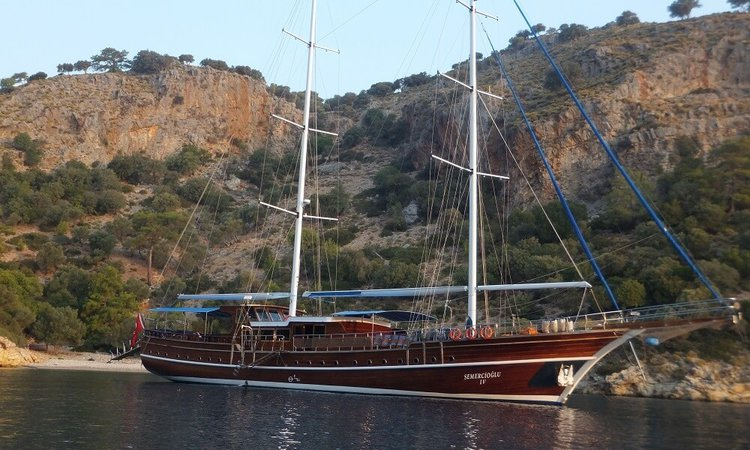 Discover Fethiye surroundings on this Custom Custom boat