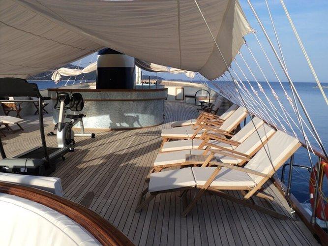 Custom's 134.51 feet in Bodrum