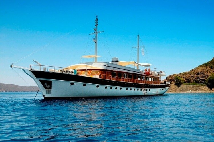 Boat for rent Custom 134.51 feet in Bodrum, Turkey