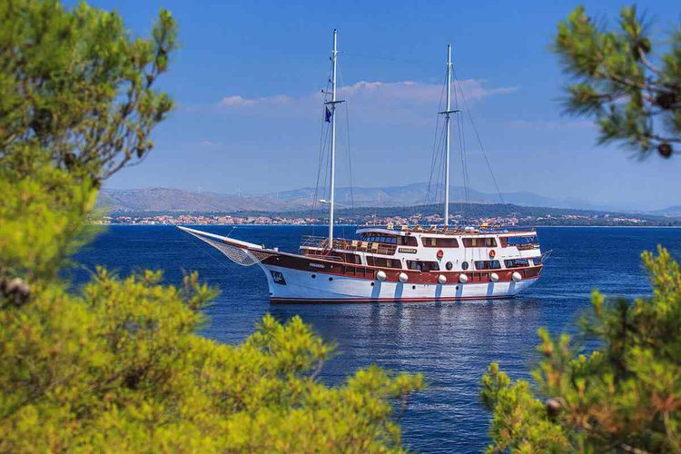 Enjoy cruising in Split, Croatia onboard 135' classic sailing yacht