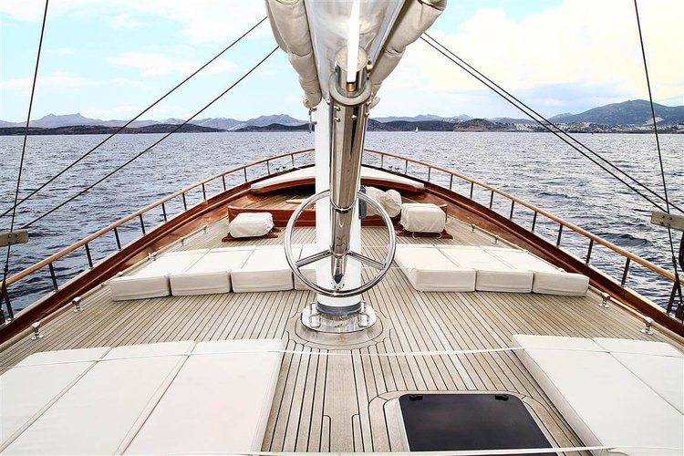 Boat for rent Custom 137.79 feet in Bodrum, Turkey
